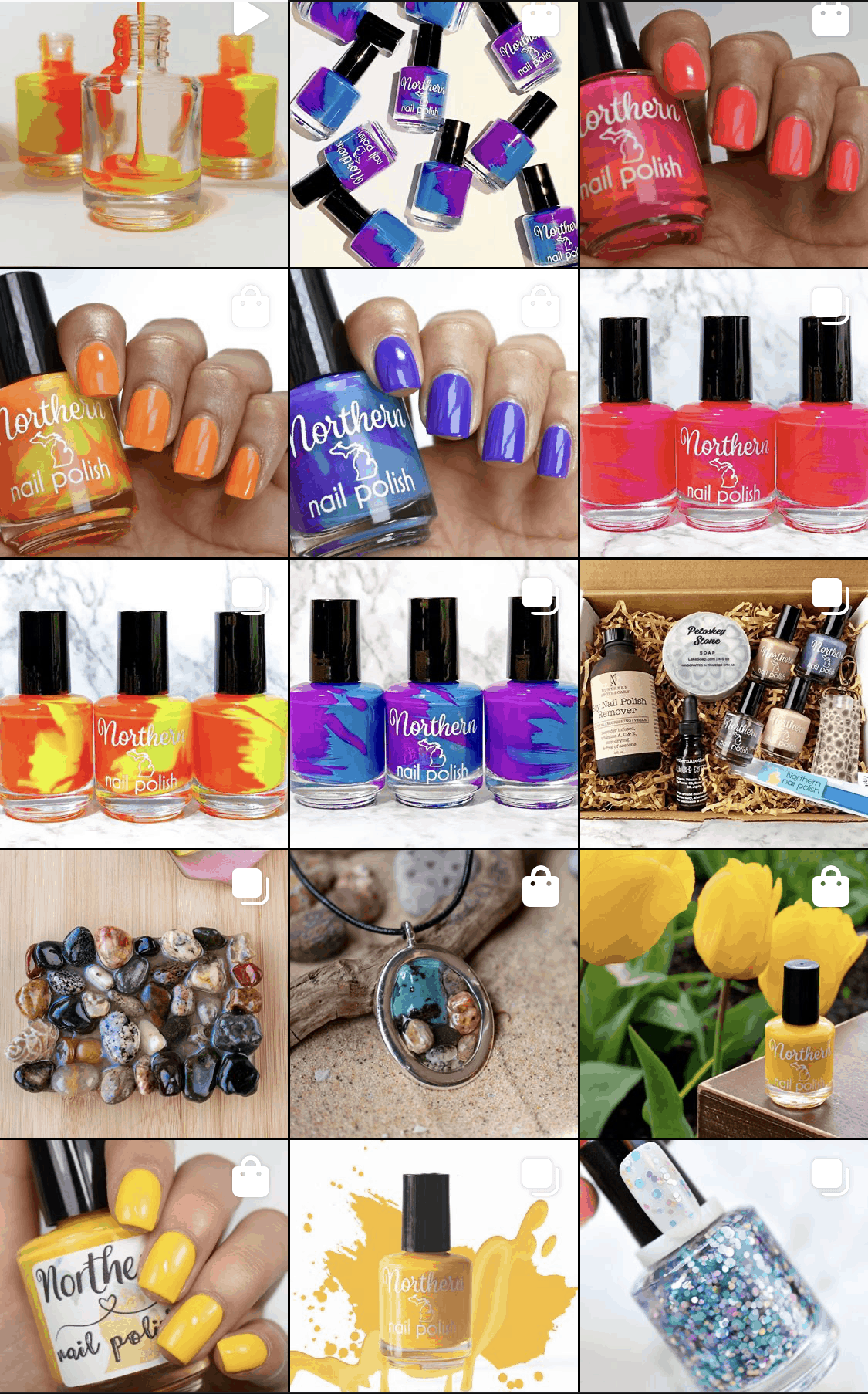 northern nail polish instagram feed before