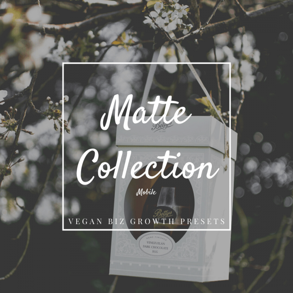 matte lightroom presets photo editing filters for small vegan businesses mobile featured